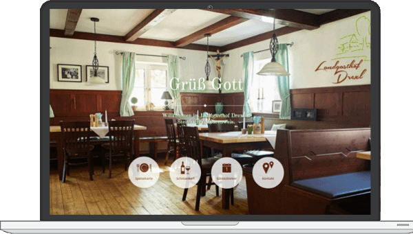 Webdesign Ammersee Media Landgasthof Drexl