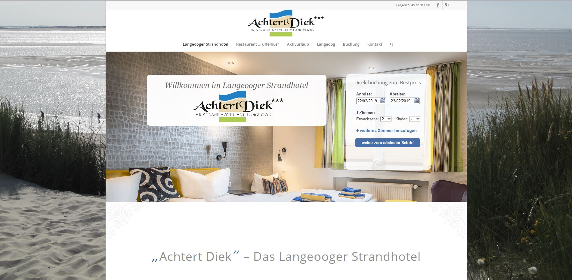 Strandhotel Achtertdiek