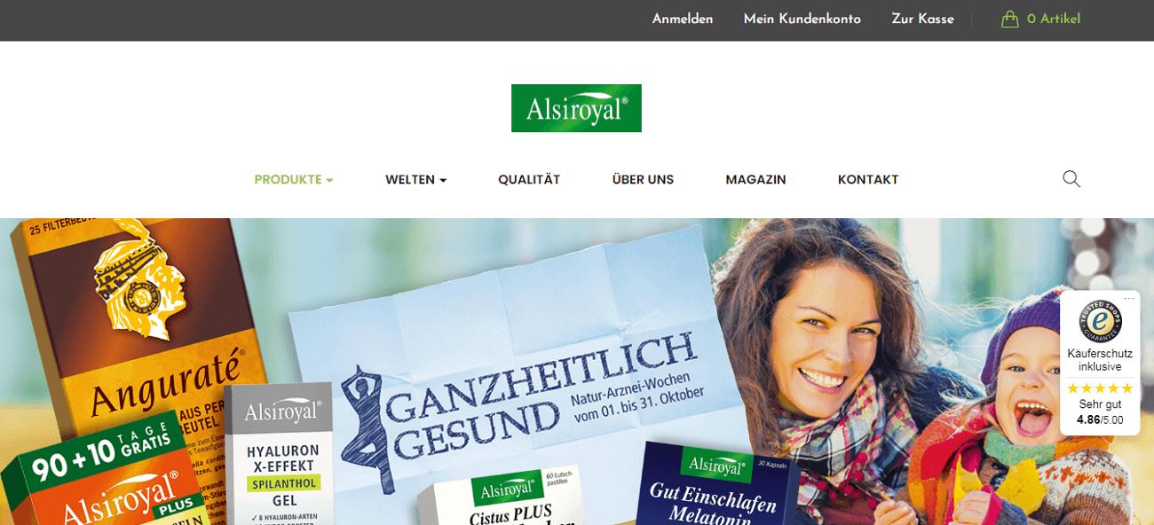 Alsiroyal Onlineshop