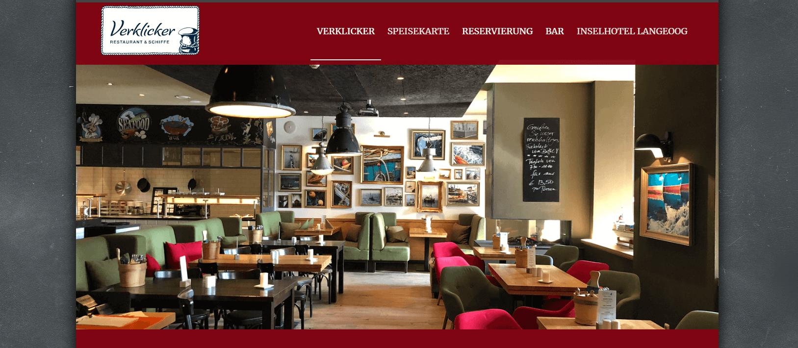 Restaurant Verklicker Langeoog