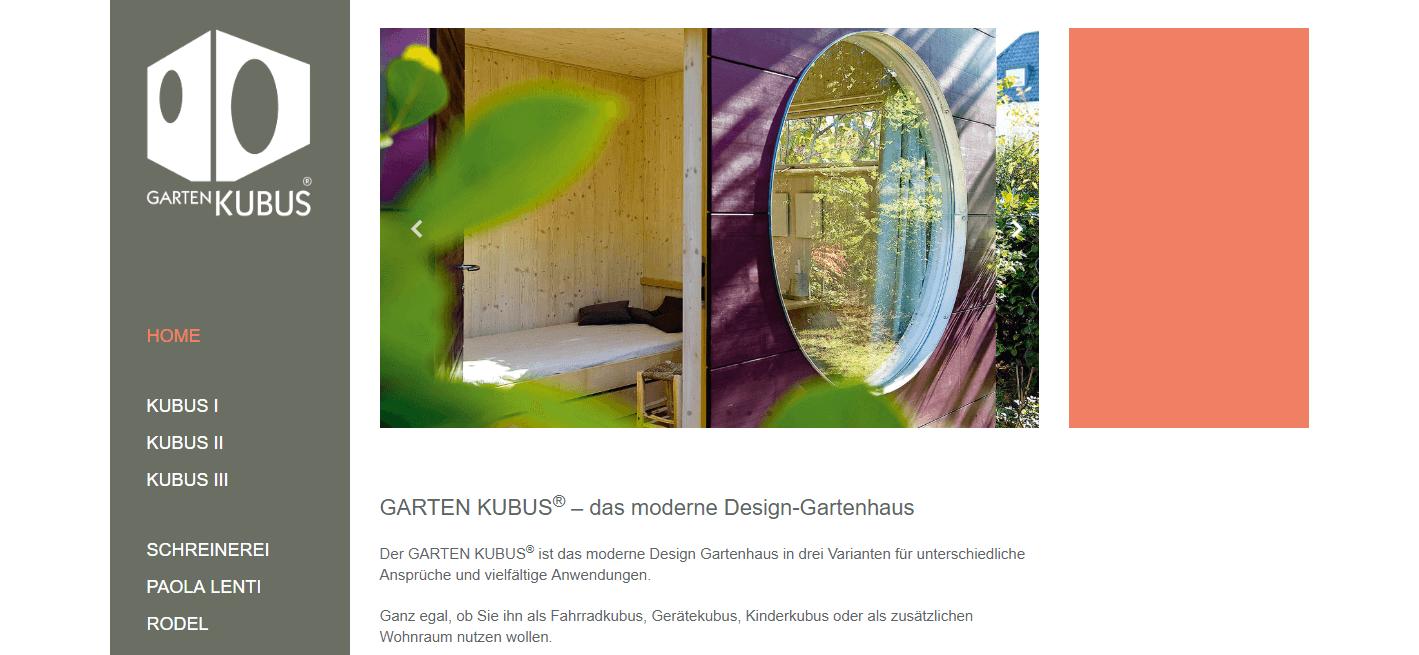 Garten Kubus
