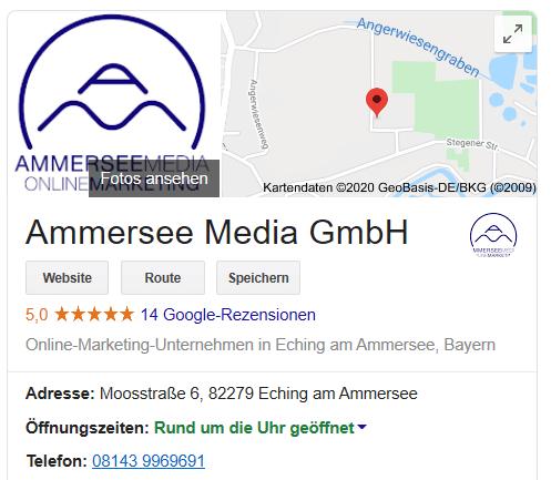Ammersee media google bewertungen