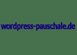 wordpress pauschale