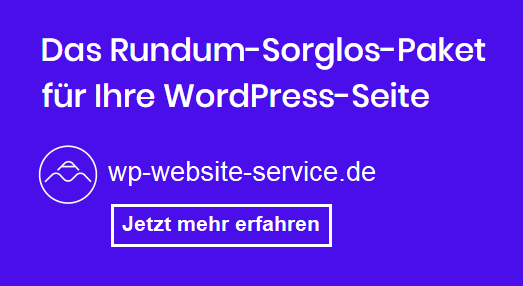 WordPress Service Wartung Betreuung - Ammersee Media