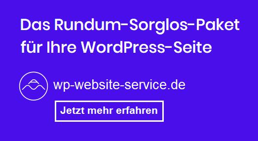 WordPress Service Wartung Betreuung - Ammersee Media