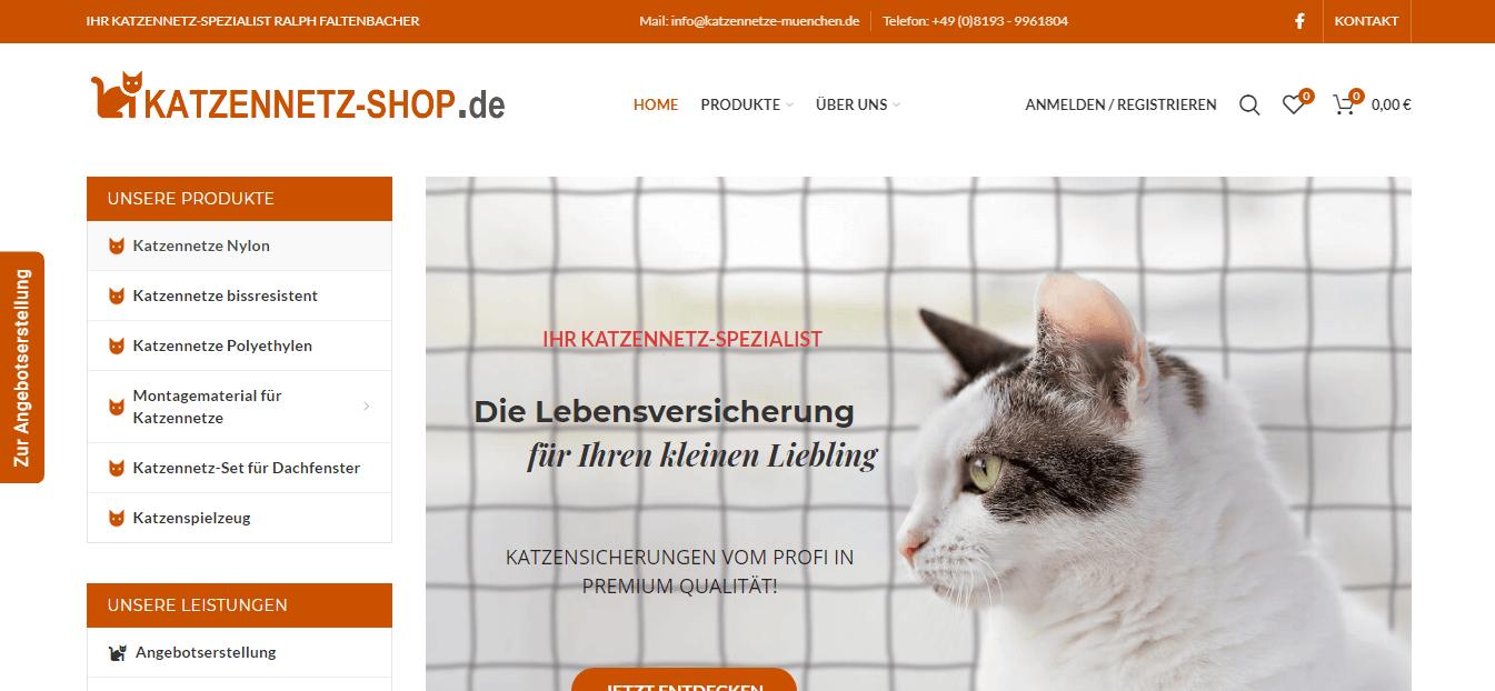 Katzennetz-Shop